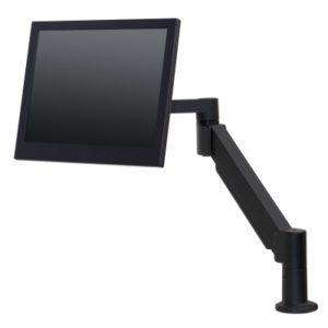 Black 7Flex Monitor Support with Monitor.