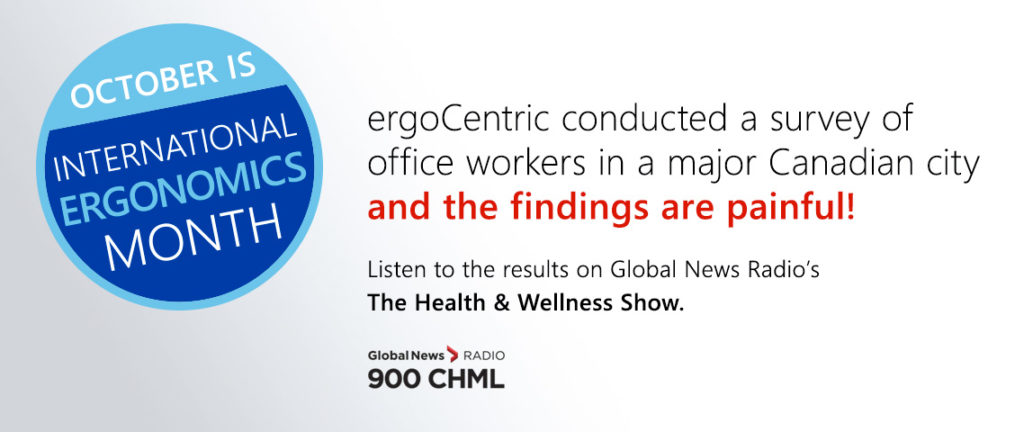 October is International Ergonomics Month