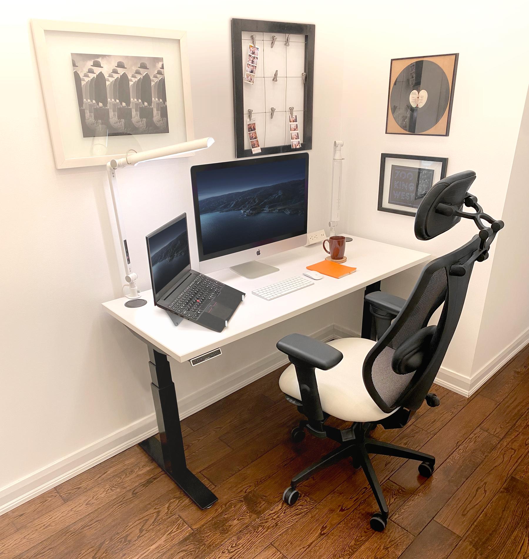 a Shared Home Office Setup