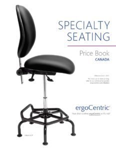 Specialty Seating Price Book