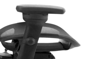 Height & Swivel Adjustable Armrests