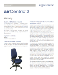 airCentric2 Warranty